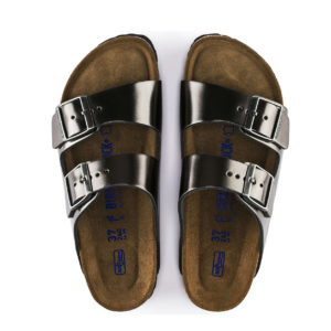 BIRKENSTOCK ARIZONA BS 1000292-METALLIC ANTHRACITE