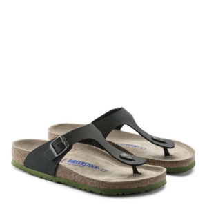 BIRKENSTOCK ARIZONA BS 1009962-DESERT SOIL BLACK