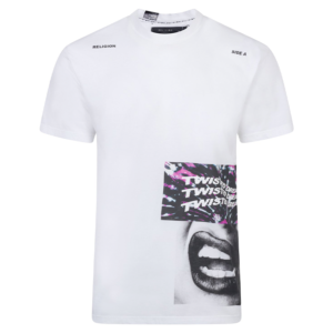 RELIGION TWISTED T-SHIRT 10BTWG95-WHITE