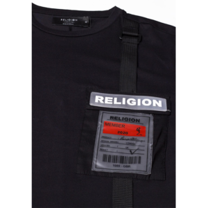 RELIGION OFFICIAL TEE T-SHIRT 10TOFF02-BLACK