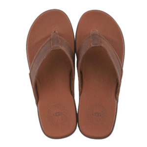 UGG SEASIDE FLIP LEATHER 1102690-BROWN