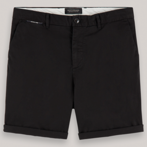 SCOTCH & SODA CLASSIC CHINO SHORT 155079-0008-BLACK