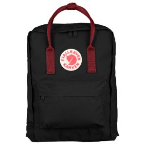 FJALLRAVEN KANKEN BACKPACK ΣΑΚΙΔΙΟ ΠΛΑΤΗΣ 23510-550-326-BLACK/OX RED