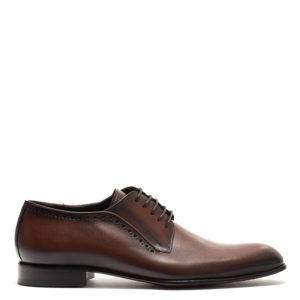 PERLAMODA MEN'S SHOES 4937-BROWN