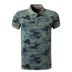 NEW ZEALAND POLO 20CN103-494 MILITARY PRINT