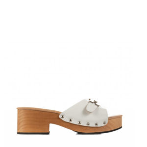 FAVELA SANDALS CLOGS 72W-WHITE