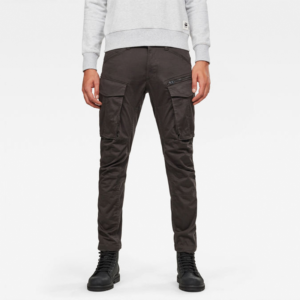 G-STAR RAW ROVIC ZIP 3D STRAIGHT TAPERED PANT D02190-5126-976-RAVEN