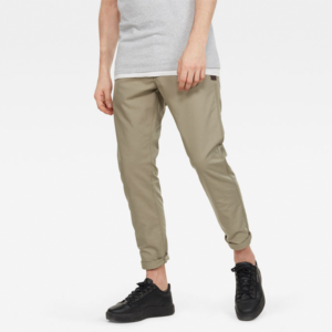 G-STAR RAW LOIC RELAXED TAPERED CHINO PANT D16163-5352-2199-SHAMROCK