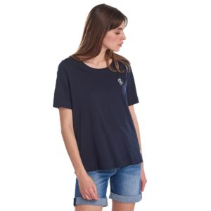 BARBOUR CLARA FLORAL TOP T-SHIRT  3BRLML0687-NY73-NAVY
