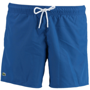LACOSTE LIGHT QUICK-DRY SWIM SHORTS MH6270-MNK-BLUE / NAVY BLUE