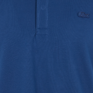 LACOSTE PARIS POLO SHIRT REGULAR FIT STRETCH COTTON PIQUE PH5522-F9F-NAVY BLUE