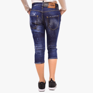 DSQUARED2 SLOUCH PEDAL PUSHER JEAN S72LB0058 S30342 470-DENIM
