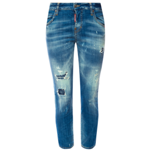 DSQUARED2 COOL GIRL CROPPED JEAN S75LB0033 S30342 470-DENIM