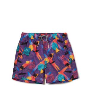 BOARDIES SWIM SHORTS FOR  KIDS SCREECH-MULTICOLOR
