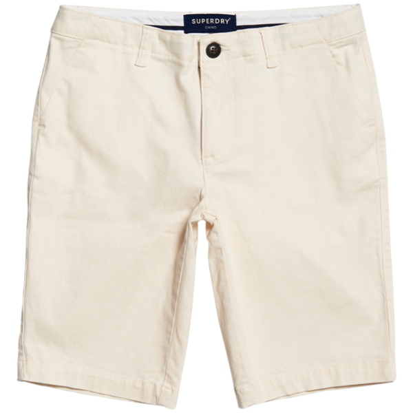 SUPERDRY CITY CHINO SHORT W7110007A-PCB-OYSTER