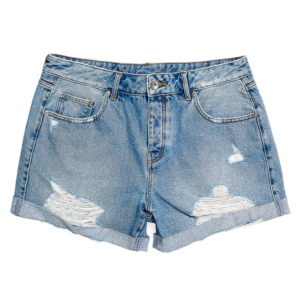SUPERDRY STEPH BOYFRIED SHORT W7110016A-O3O-LIGHT INDIGO VINTAGE