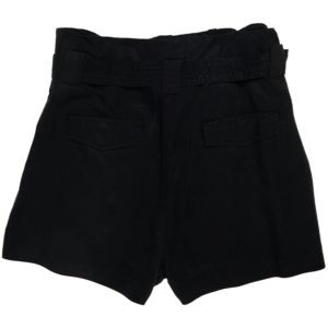 SUPERDRY DESERT PAPER BAG SHORTS W7110028A-02A-BLACK