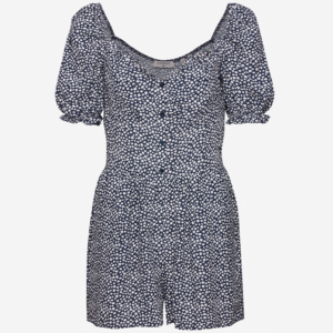 SUPERDRY QUINCY SUMMER PLAYSUIT W8010096A-SJI-NAVY DITSY
