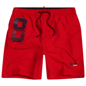 SUPERDRY WATERPOLO SWIM SHORT M3010008A-0XL-FLAG RED