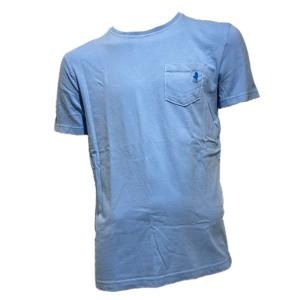 MARLBORO CLASSICS T-SHIRT SHORT SLEEVE MCS-M-T-02022-520-BLUE