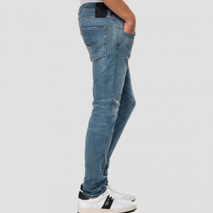 REPLAY ANBASS SLIM JEANS M914Y 661 A05-009-BLUE
