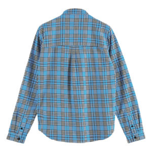SCOTCH AND SODA LONGSLEEVE SHIRT IN MID WEIGHT FLANNEL 156870-0218-COMBO B