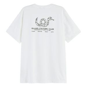 SCOTCH AND SODA SHORT SLEEVE TEE WITH COOL ARTWORKS 157070-0001-OFF WHITE