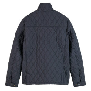 SCOTCH AND SODA CLASSIC SHORT QUILTED JACKET 158273-0002-NIGHT