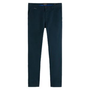 SCOTCH AND SODA MOTT – CLASSIC TWILL CHINO WITH STRETCH 158347-3856-ARCTIC TEAL