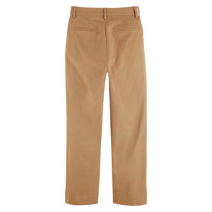 SCOTCH AND SODA ABOTT' REGULAR FIT CHINO IN ORGANIC COTTON TWILL 159485-0137-SAND