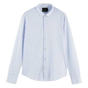 SCOTCH AND SODA CLASSIC KNITTED SHIRT 160553-0219-COMBO C