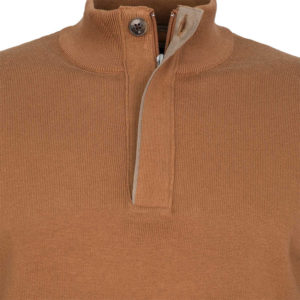 NAVY & GREEN SWEATER 24YM.907/2LB-BROWN SUGAR