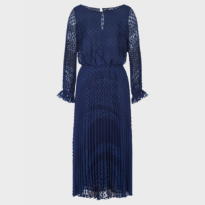 EMPORIO ARMANI WOVEN DRESS 6H2A80 2NMBZ 0903-BLUE ROYAL