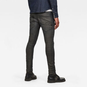 G-STAR RAW D-STAQ 3D SLIM COLORED JEANS D06754-9860-B826-RAVEN SOFT COBLER