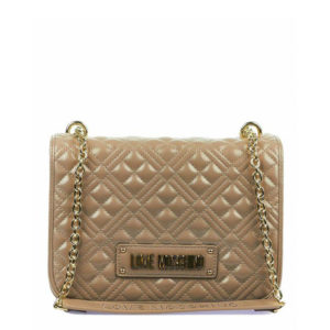 LOVE MOSCHINO SHOPPER BAG WITH LOGO JC4000PP1BLA0-001-TAUPE