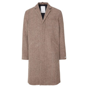LES DEUX MONROE WOOL COAT LDM620020-810820-DARK SAND/DARK BROWN