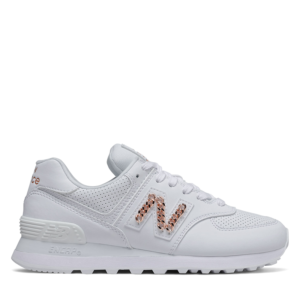 NEW BALANCE 574 LIFESTYLE SNEAKERS WL574HNE-WHITE
