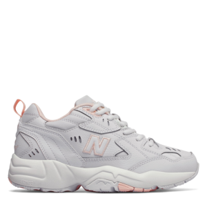 NEW BALANCE 608 CHUNKY SNEAKERS WX608WI1-WHITE/PINK