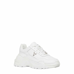 WINDSOR SMITH CARTE LE LEATHER SNEAKERS 0112000339-WHITE/WHITE