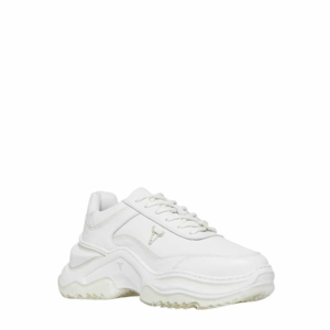 WINDSOR SMITH CHAOS LEATHER SNEAKERS 0112000480-WHITE