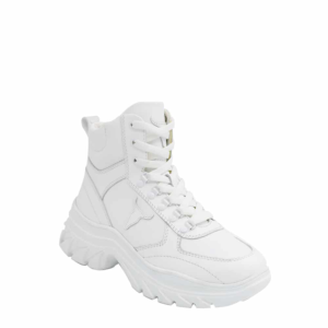 WINDSOR SMITH CRUISIN LE LEATHER SNEAKERS 0112000558-WHITE