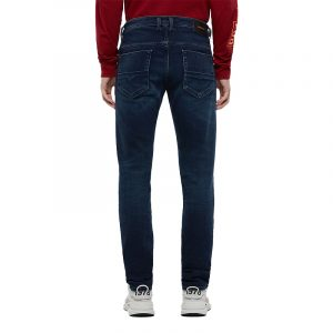 DIESEL THOMMER-X L.34 5 POCKETS TROUSERS 00SB6F-009JE-01-DARK BLUE