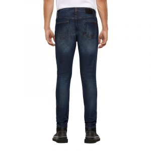 DIESEL D-STRUKT  L.34 5 POCKETS TROUSERS 00SPW6-009GQ-01-DARK BLUE