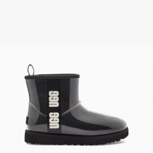 UGG CLASSIC CLEAR MINI BOOTS 1113190-BLACK