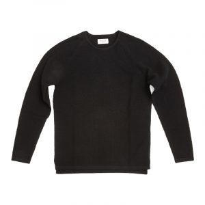 GABBA LAMP O-NECK KNIT P4910-BLACK