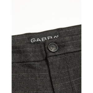 GABBA PISA KD3920 BLACK SHADOW CHECK PANT P5091-BLACK CHECK
