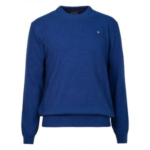 NAVY & GREEN SWEATER 24AR.950/P.4-BLUE