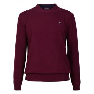 NAVY & GREEN SWEATER 24AR.950/P.4-DK BORDEAUX