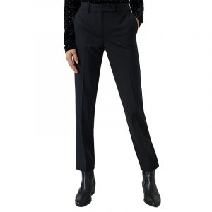 MARELLA ISBA CIGARETTE TROUSERS 31360406-005-BLACK