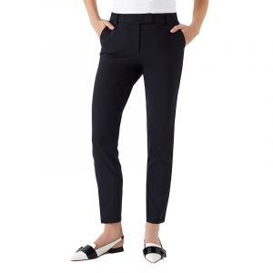 MARELLA BACI TROUSERS 31360908-003-BLACK